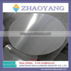 1100 H18 stamping aluminum wafer for billboard