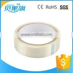 most popular all colors different size sticky waterproof custom printed packing fiber black teflon tape