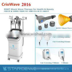 2016 China Supplier Acoustic wave Therapy fat reduction ultrasound machine