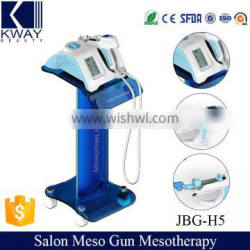 JBG-H5 Portable Beauty Sap Mesotherapy Meso Gun Wrinkle Removal Mesotherapy Instrument for Skin Tightening
