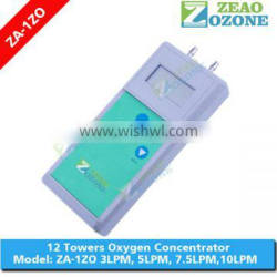 Handheld LCD display oxygen concentrator purity tester