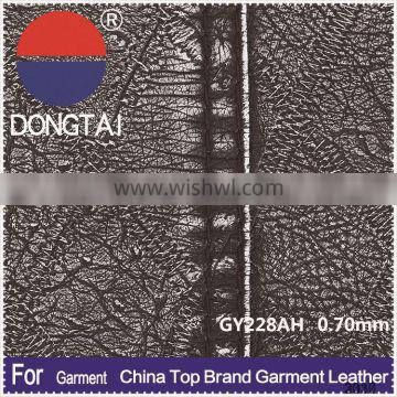 Leader enterprises artificial color chart pu leather Free samples
