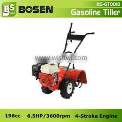 6.5HP Gasoline Ground Tiller with Rotary Hoe