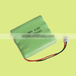 AAA 500mAh 4.8v NIMH rechargeable battery pack