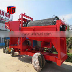 Diesel engine gold washing plant for gold ore