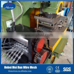 Easily assembled high speed Original quality razor barbed wire making machine manufacture with factory price from Anping Factory