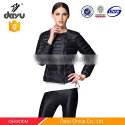 European down jackets ultra light women quilted bomber jacket wholesale