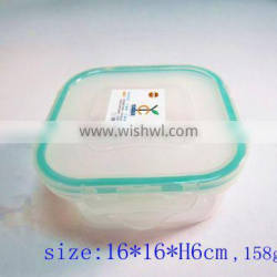 New Products 2016 Transparent Plastic Disposable Compartment Lunch Box