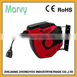 the MARVY automatic 14+1m H05VV-F3*1.5mm electric cable reel