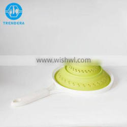 Best selling silicone foldable colander