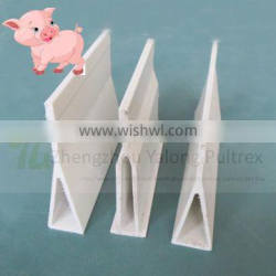 Anti-aging&corrosion resistant fiberglass support beam for poultry floor support