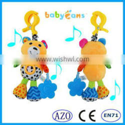 Babyfans 2015 For Kids Cute Design Pull And Bear Baby Musical Hanging Toys babies toys
