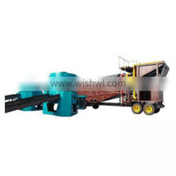 Customized underflow sluice box gold mining equipment on sale