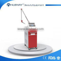 Best Price Efficient Professional Q Switched 1000W Nd Yag Laser Machine Pigmented Lesions Treatment