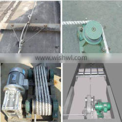 Manure cleaning system for layer chicken cage