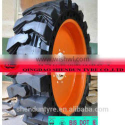 Famous Forklift Solid Tire forklift tyres LUCKY FISH