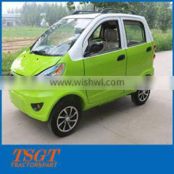 four seats for taxi use cheap price small electric car with 1500w motor made in China