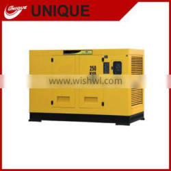 250kva portable generator diesel powered water cooled soundproof factory price