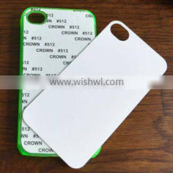 sublimatable blank phone case with Aluminum insert