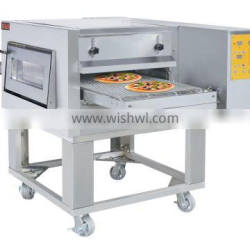 HOMAR superior computer Electric Convection Converyor Pizza Oven with truckles