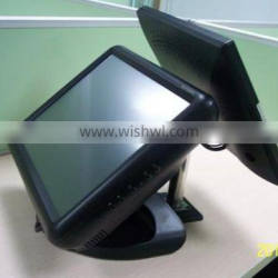 Cheap touch cash register machine with customer display