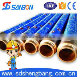 CE&ISO approved Flexible resistant 3 inch used concrete pumping hose