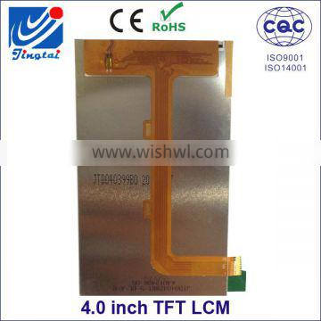 Small size 4.0 inch flexible lcd display transparent lcd display