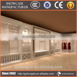 Top quality retail clothes display stand in shopping mall