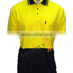 OEM 100% Cotton safety polo shirt made in China