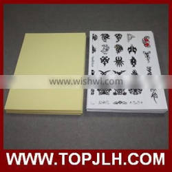 top quality printer paper and adhesive sheet for tattoo paper making