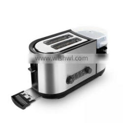 Bread Toaster/Commercial 4 Slices Stainless Steel Hamburger Bun Bread Toaster