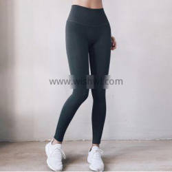 Plus Size High Waist Compression Running Fitness Workout Tights