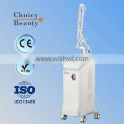 CO2 RF Tube Fractional Laser Skin Regeneration Machine Dermatology Removing Eye Bags Machines 15W(20W)