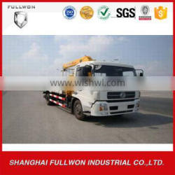dongfeng 6 wheel XCMG 5 T truck mounted crane for sale