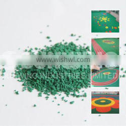 new style coloured plastic rubber granules