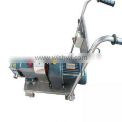 high pressure conveying roots blower hdsr-80 stainless steel sanitation rotary lobe pump