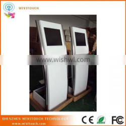 Wivitouch white touch screen information kiosk