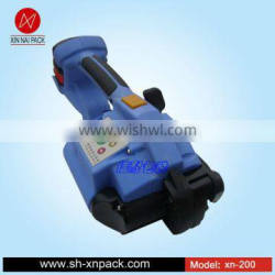 XN-200 battery strapping tool for high strength polyester strap