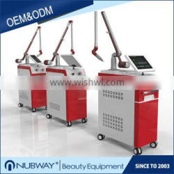 CE approved 1-10Hz adjustable 1064nm 532nm 1320nm q switched nd yag laser best tattoo removal laser machine