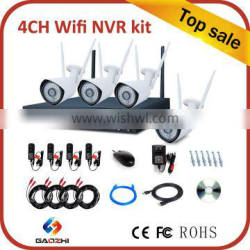 wholesale 4CH 1080P P2P nvr wireless camera system