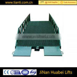 10Ton container mobile loading yard ramp for sale