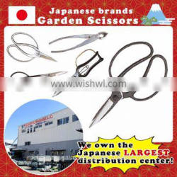 Durable and Well-cut sharp garden scissors with various shapes