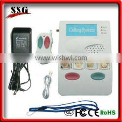 Newly design wireless nurse auto dial with two way talk function