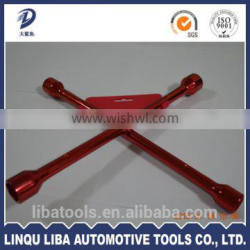 China Supplier Industrial 4 way Tire Wrench(X Type Wrench)