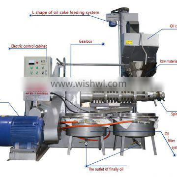 2019 Screw olive oil press machine with best price