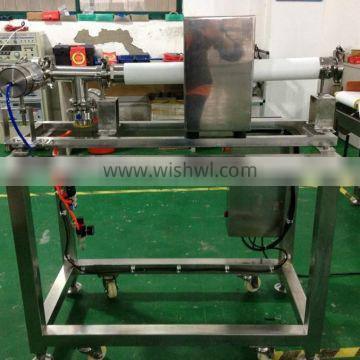 Pipeline metal detectors to inspect liquid, paste and slurry products