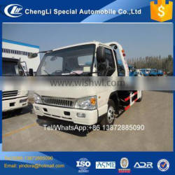 Recovery wrecker tow truck platform factory in china