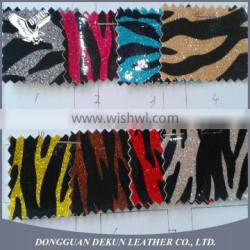 Efficient logistic service chunky glitter wallpaper vinyl leather