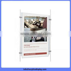 Newly Hot sale acrylic lighting poster frame