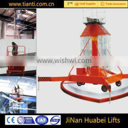 Excellent Quality Adjustable Hydraulic Lifting Telescopic Cylindrical Aerial Work Platform